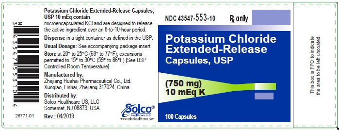 Container Label 750 mg