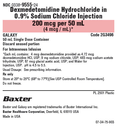 Dex Med Representative Container Label 0338-9555-24