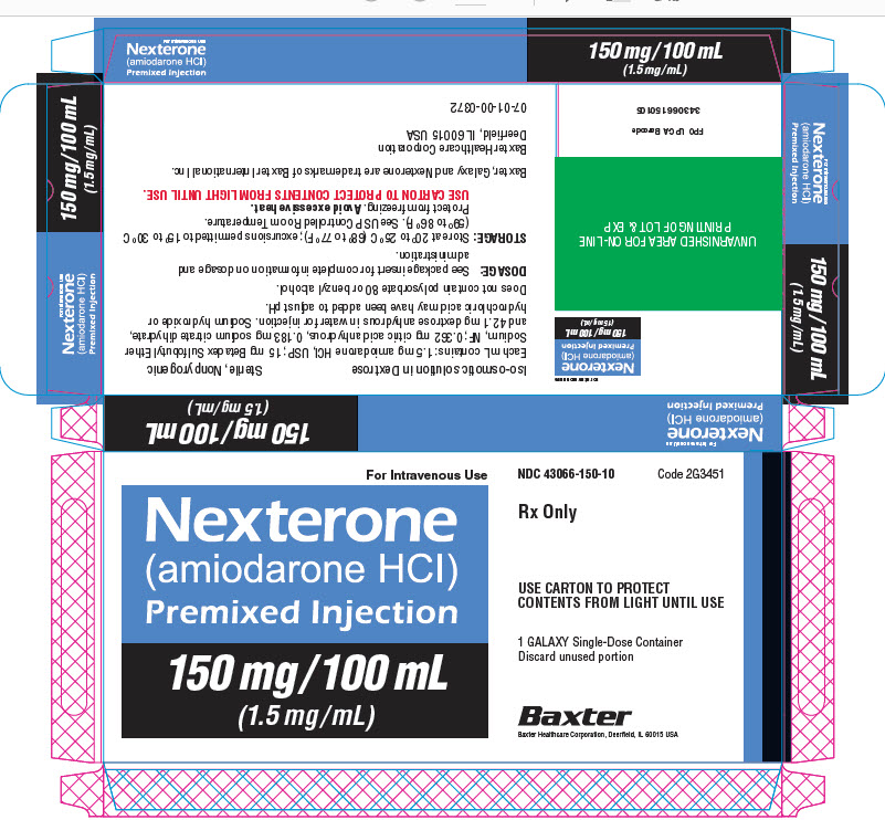 Representative Nexterone Label 43066-360-20 2 of 2