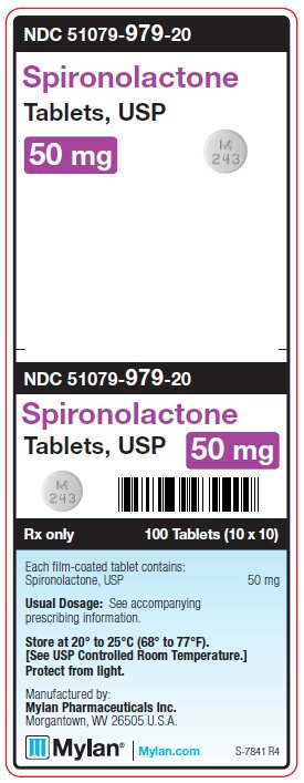 Spironolactone 100 mg Tablets Unit Carton Label