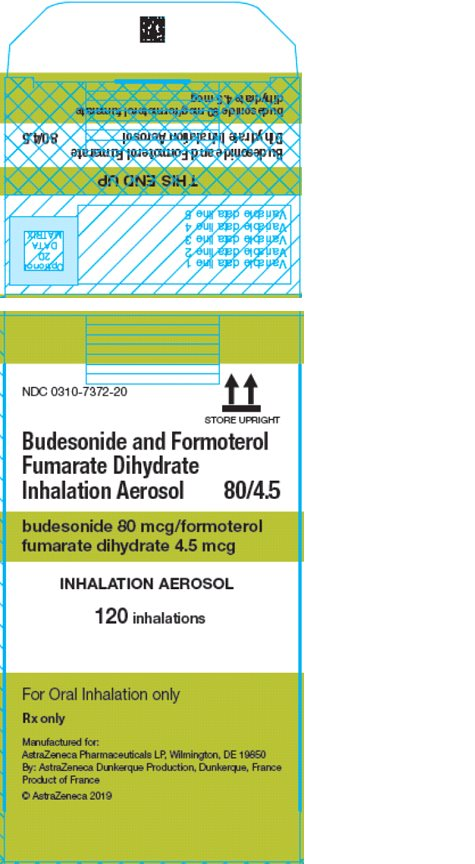 Symbicort AG 80/4.5 mcg 120 inhalations carton