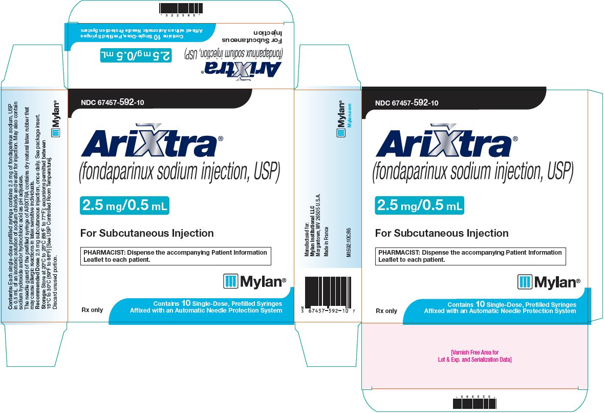 Arixtra Injection 2.5 mg/0.5 mL Carton Label
