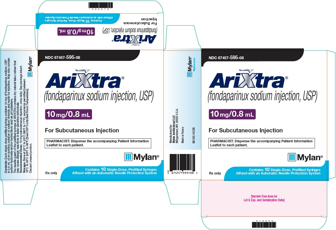 Arixtra Injection 10 mg/0.8 mL Carton Label