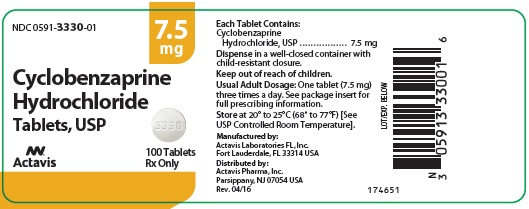 Cyclobenzaprine Hydrochloride Tablets