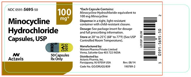 Actavis Minocycline Hydrochloride (label)
