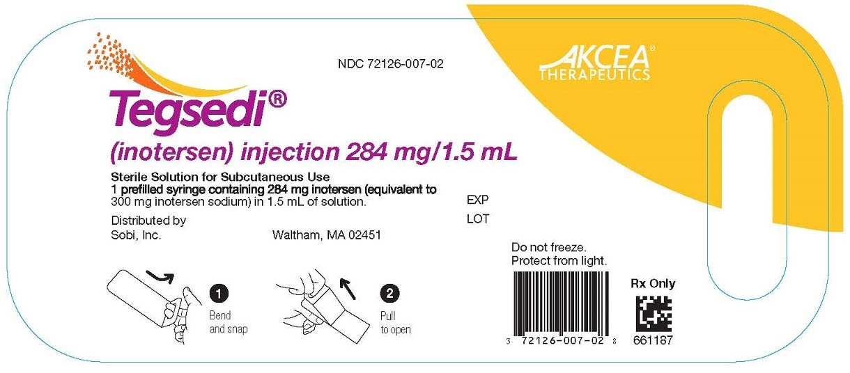 '.Rx Item-TEGSEDI inotersen injection, sol.'