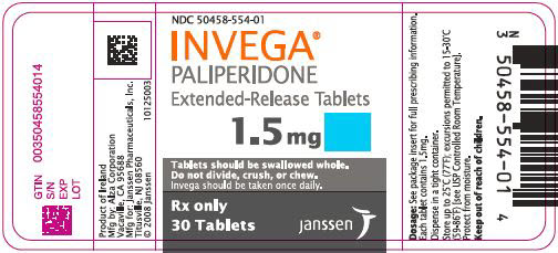 PRINCIPAL DISPLAY PANEL - 1.5 mg Tablet Bottle Label