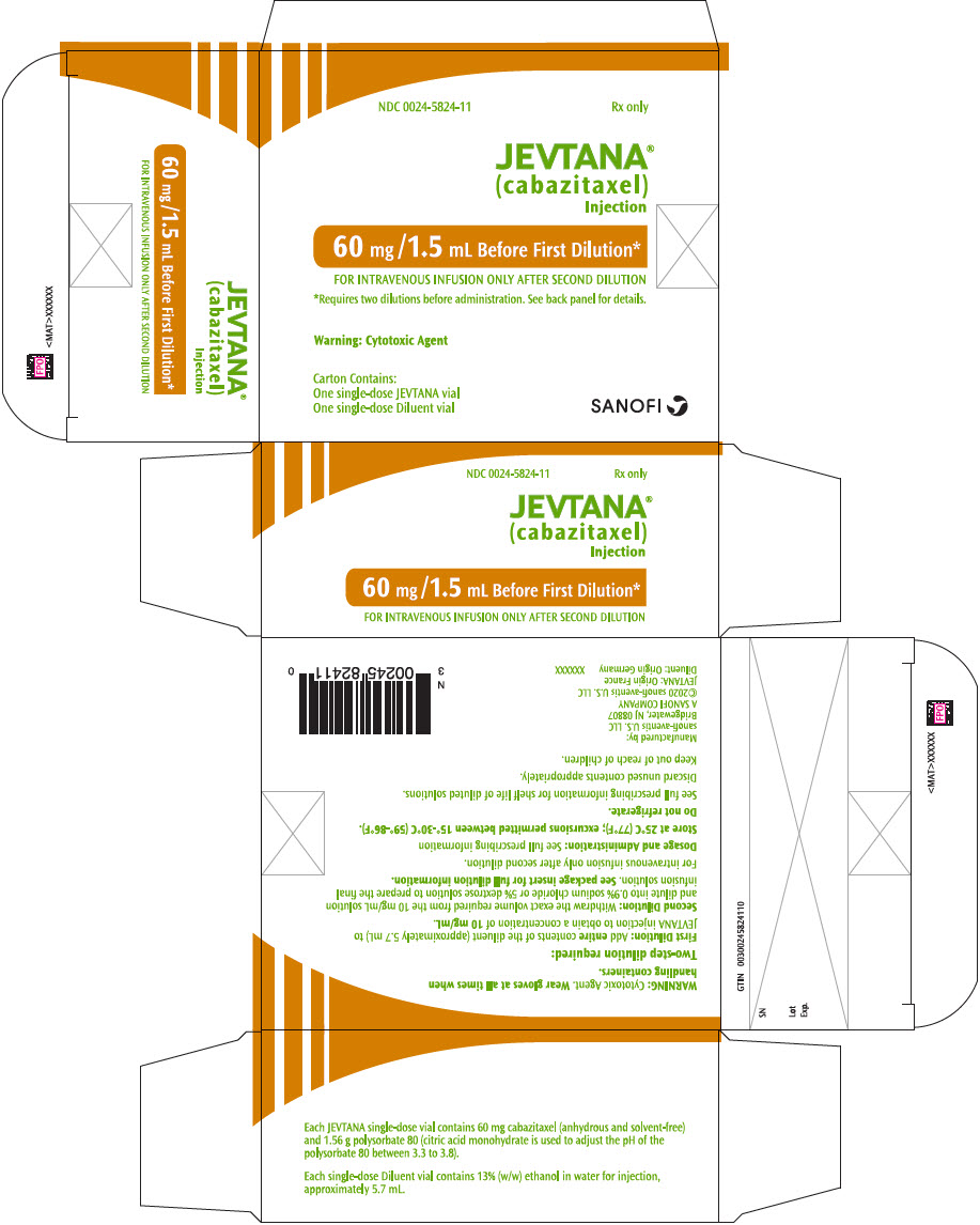 PRINCIPAL DISPLAY PANEL - 60 mg/1.5 mL Vial Label