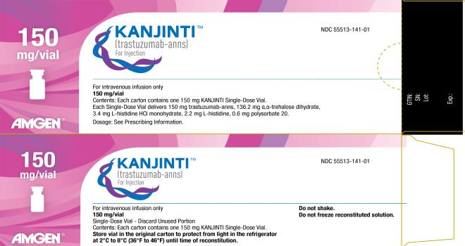 RX ITEM-KANJINTI 150 MG SDV  Vial By Genentech Healthcare