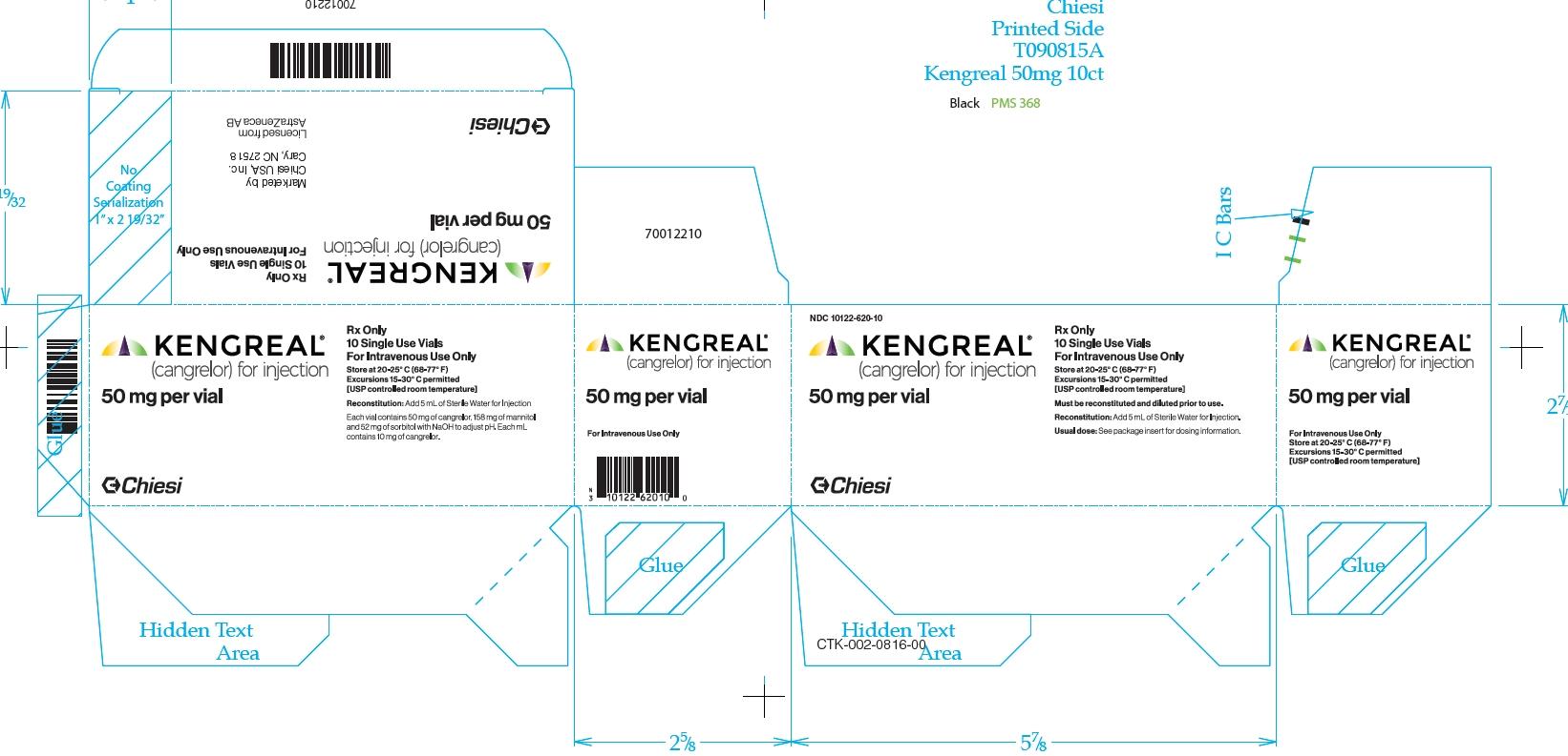 '.Kengreal 50Mg Vial 10 By Medicines Co.(C.'