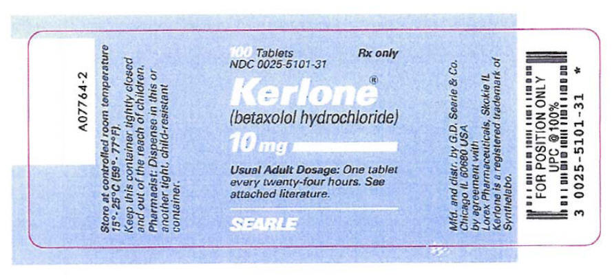 Kerlone   Betaxolol Hydrochloride Tablet Breastfeeding