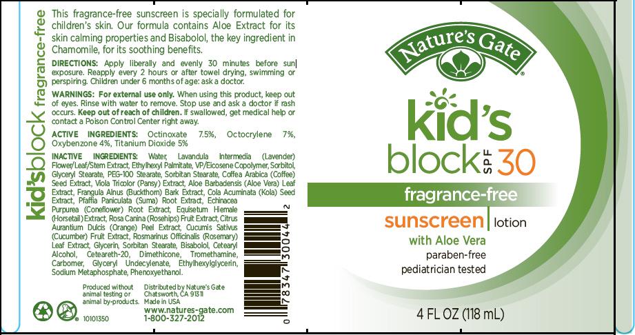 Natures Gate Kids Block Spf 30 Sunscreen Breastfeeding