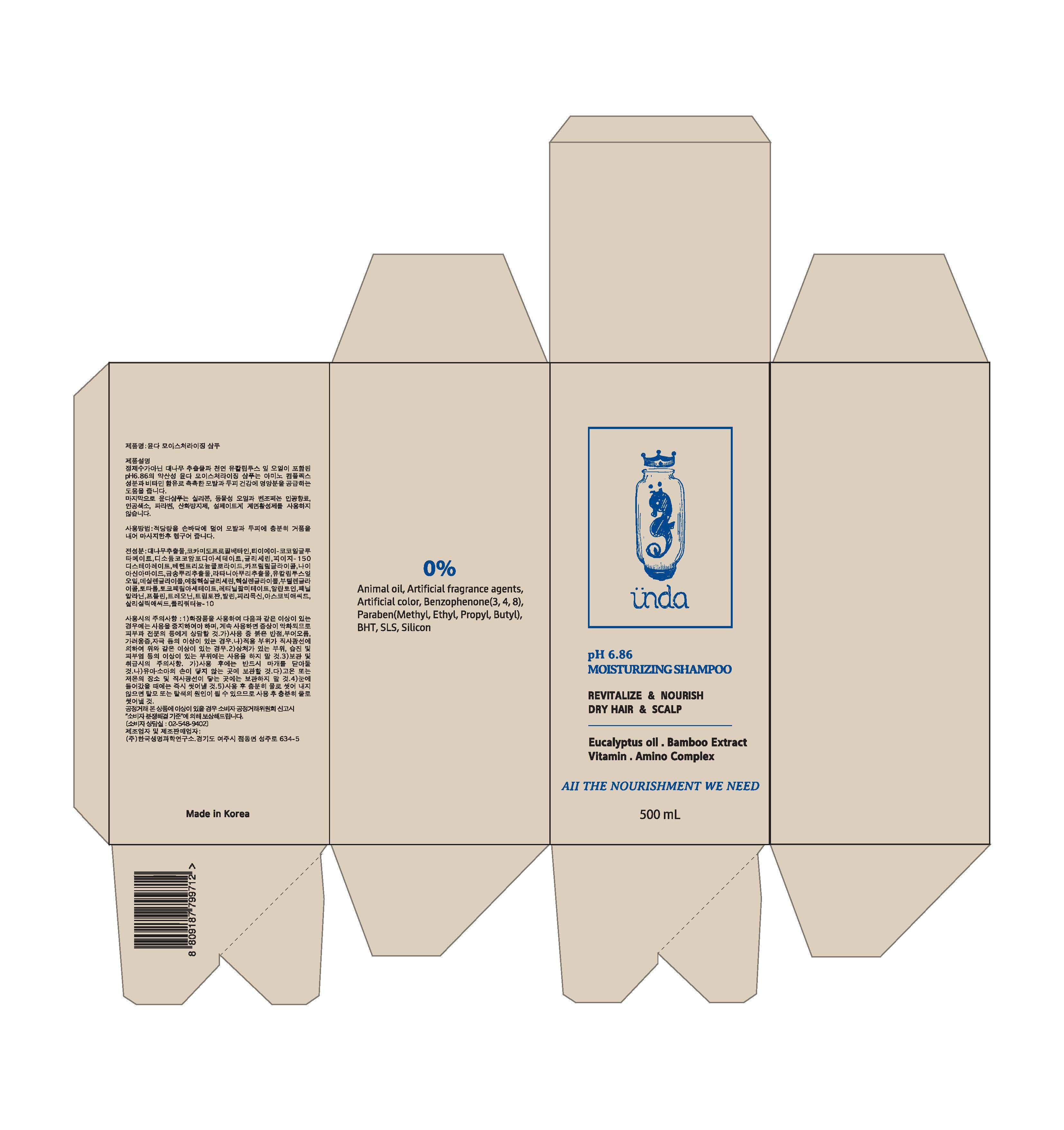 Unda Mositurizing   Salicylic Acid, Bambusa Vulgaris Extract, Eucalyptus Globulus Leaf Oil Shampoo while Breastfeeding