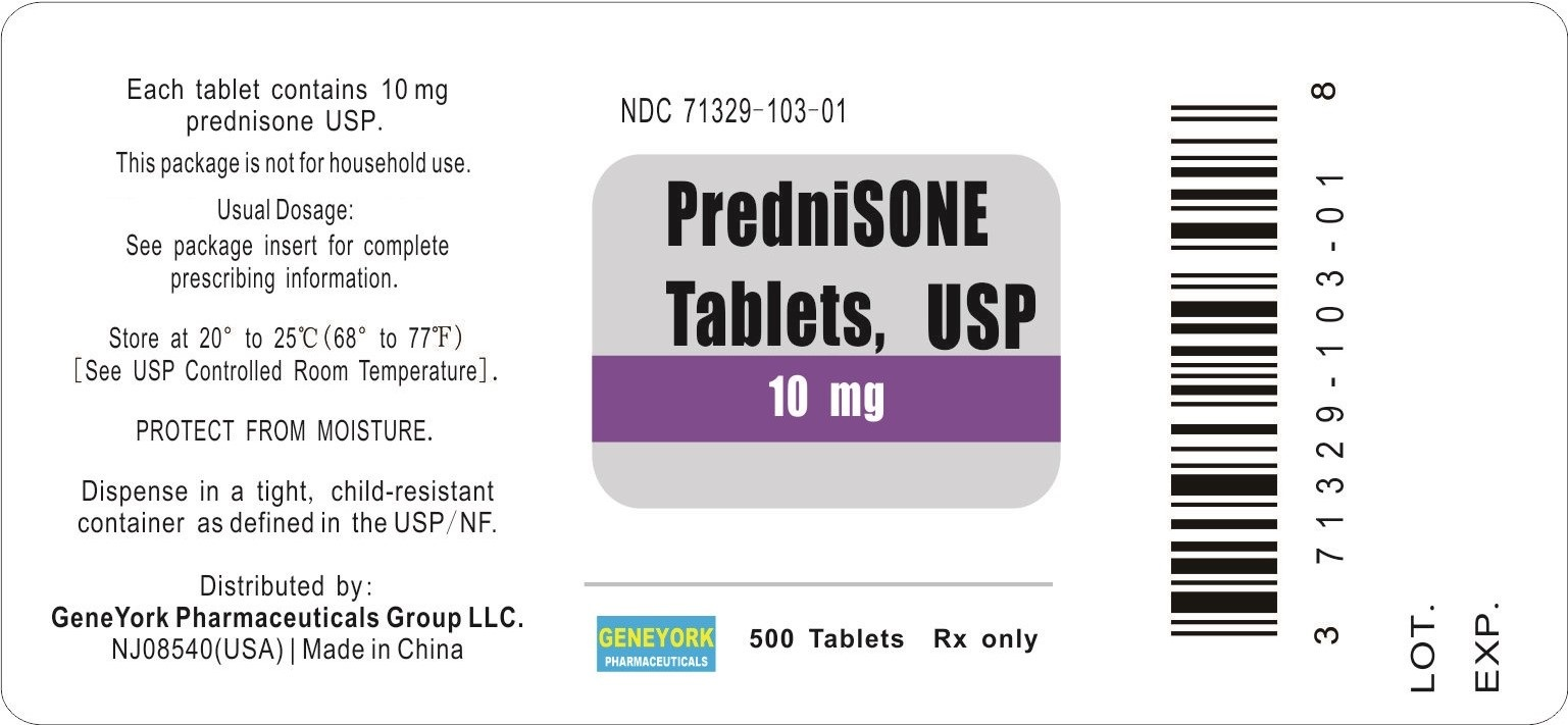 Label 500 tablets for 10 mg