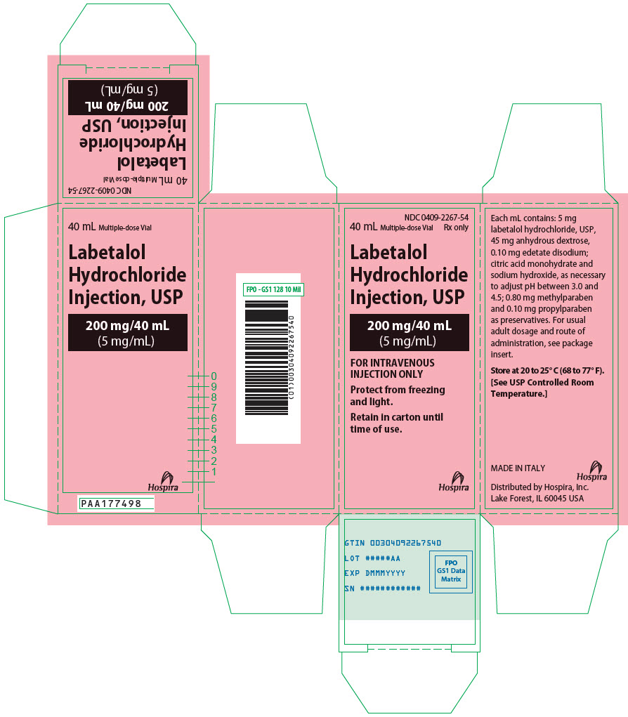 PRINCIPAL DISPLAY PANEL - 200 mg/40 mL Vial Carton