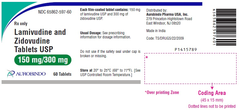 PACKAGE LABEL-PRINCIPAL DISPLAY PANEL - 150 mg/300 mg (60 Tablet Bottle)