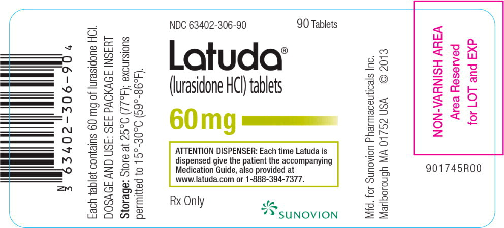 PACKAGE LABEL - PRINCIPAL DISPLAY PANEL - 60 mg, 90-ct LABEL