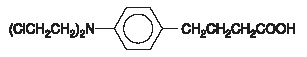 chlorambucil chemical structure