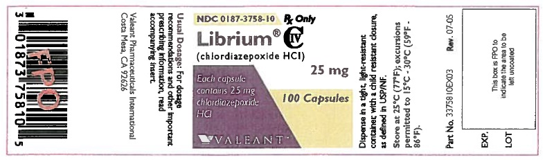 Librium | Chlordiazepoxide Hydrochloride Capsule, Gelatin Coated Breastfeeding