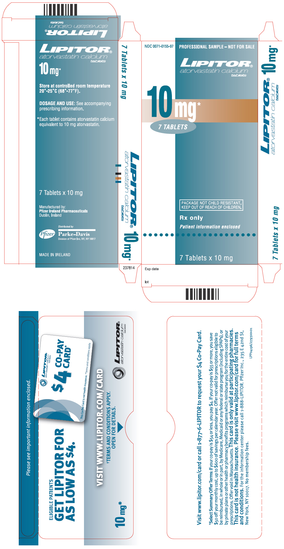 PRINCIPAL DISPLAY PANEL - 10 mg Tablet Packet Carton
