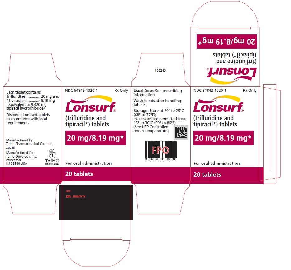'.Lonsurf 20 8.19Mg Tab 20 By ASD Healthca.'