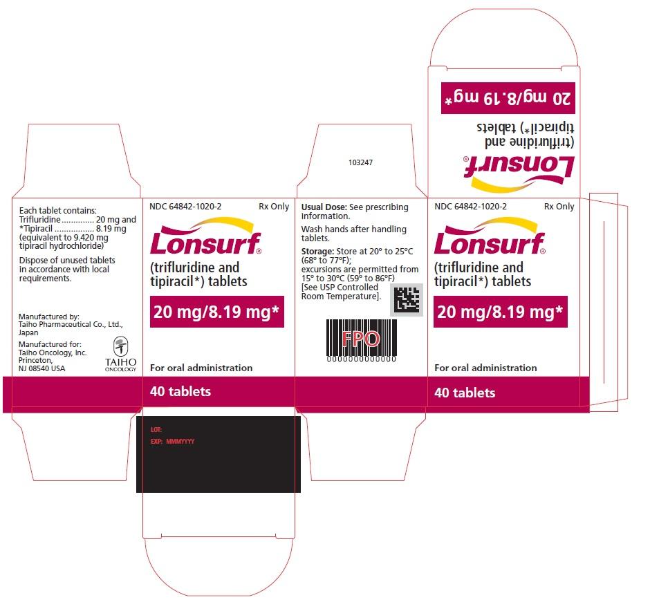'.Lonsurf 20 8.19Mg Tab 40 By ASD Healthca.'
