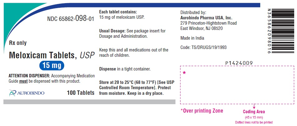 PACKAGE LABEL-PRINCIPAL DISPLAY PANEL - 15 mg (100 Tablet Bottle)