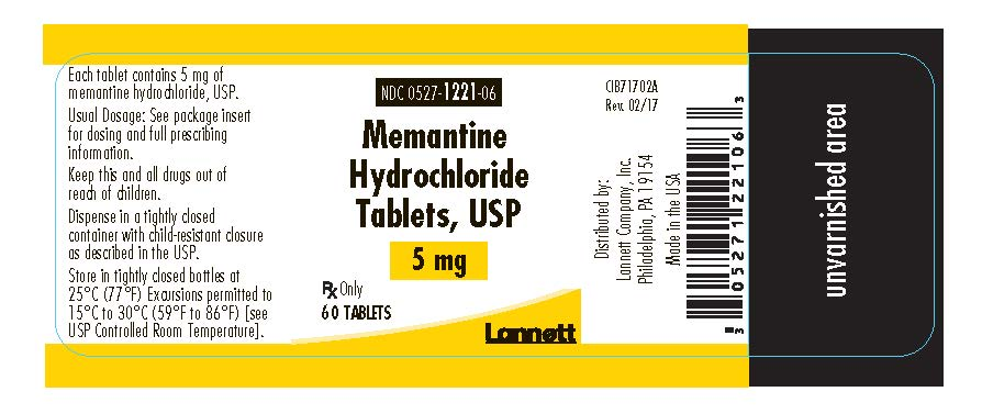 5 mg 60 count bottle label