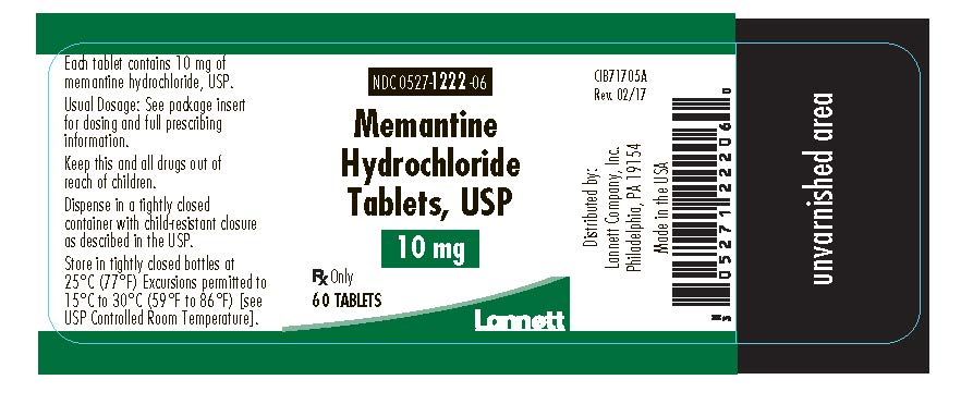 10 mg 60 count bottle label