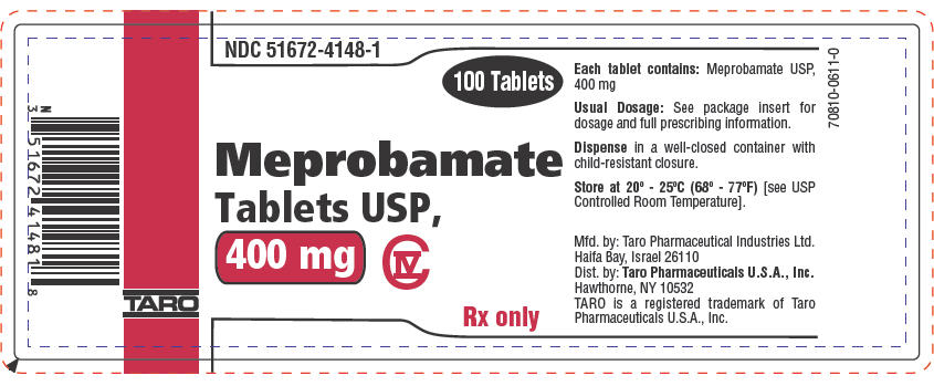 PRINCIPAL DISPLAY PANEL - 400 mg Tablet Bottle Label