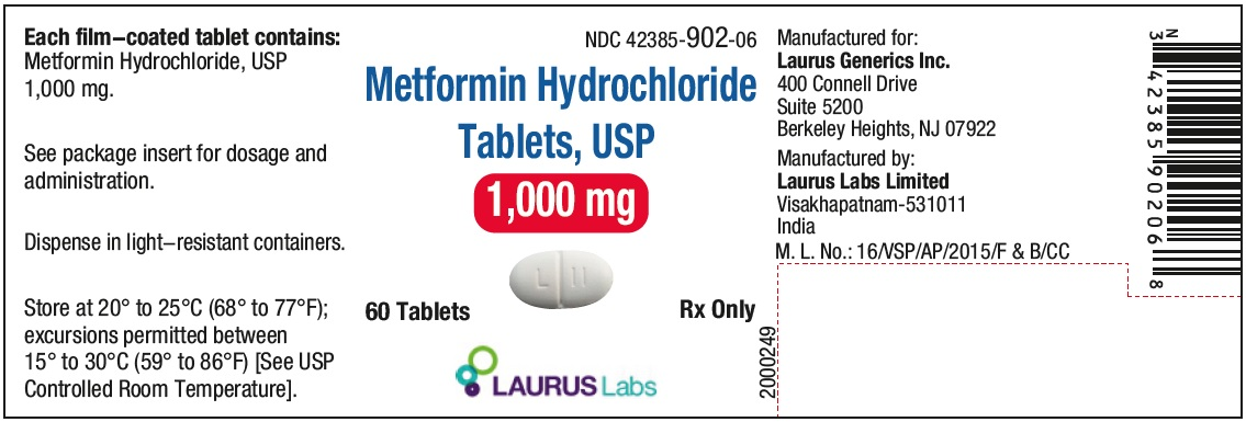 PRINCIPAL DISPLAY PANEL - Container Label (1000 mg - 60's count)
