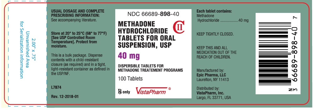 Container Label - 40 mg