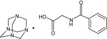 METHENAMINE HIPPURATE TABLETS USP 1 g Rx only