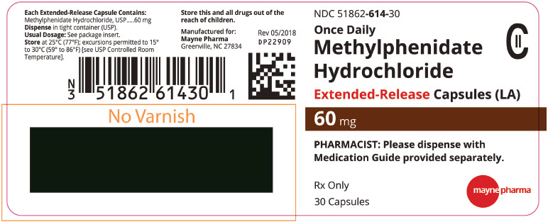 PRINCIPAL DISPLAY PANEL - 60 mg Capsule Bottle Label