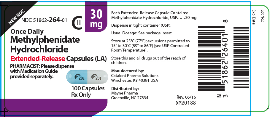 PRINCIPAL DISPLAY PANEL - 30 mg Capsule Bottle Label