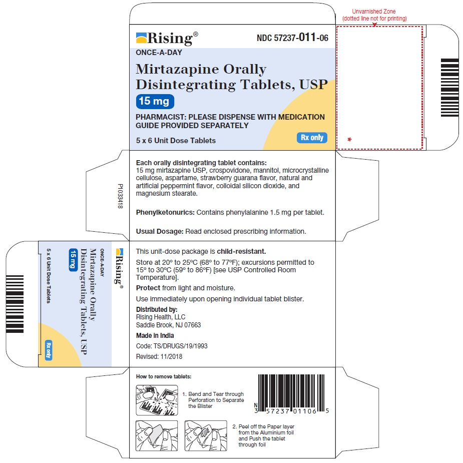 PACKAGE LABEL-PRINCIPAL DISPLAY PANEL - 15 mg Blister Carton (5 x 6 Unit-dose)