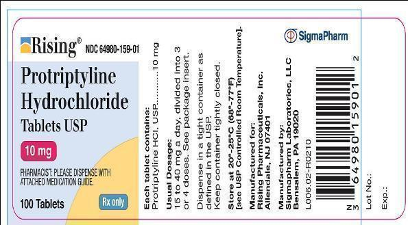 protriptyline 10 mg label