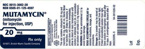 Mutamycin | Mitomycin Injection, Powder, For Solution Breastfeeding