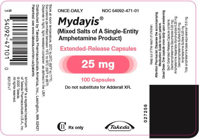 '.Rx Item-Mydayis Dextroamphetamine/Amphet.'