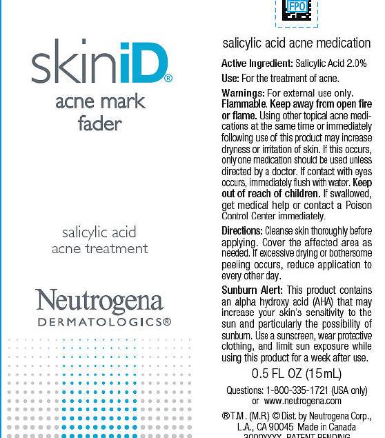 Neutrogena Skinid Acne Mark Fader | Salicylic Acid Gel while Breastfeeding