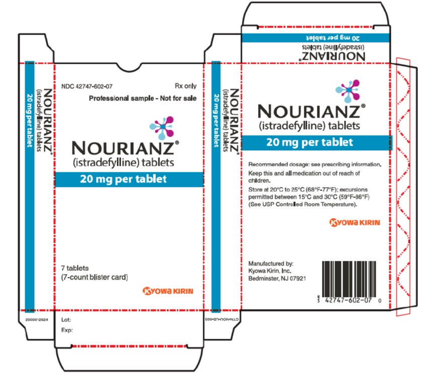 '.Rx Item-NOURIANZ 20mg 90 tab by Kyowa Ki.'