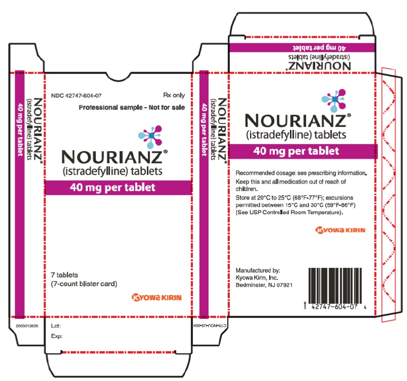'.Rx Item-NOURIANZ 40mg 90 tab by Kyowa Ki.'