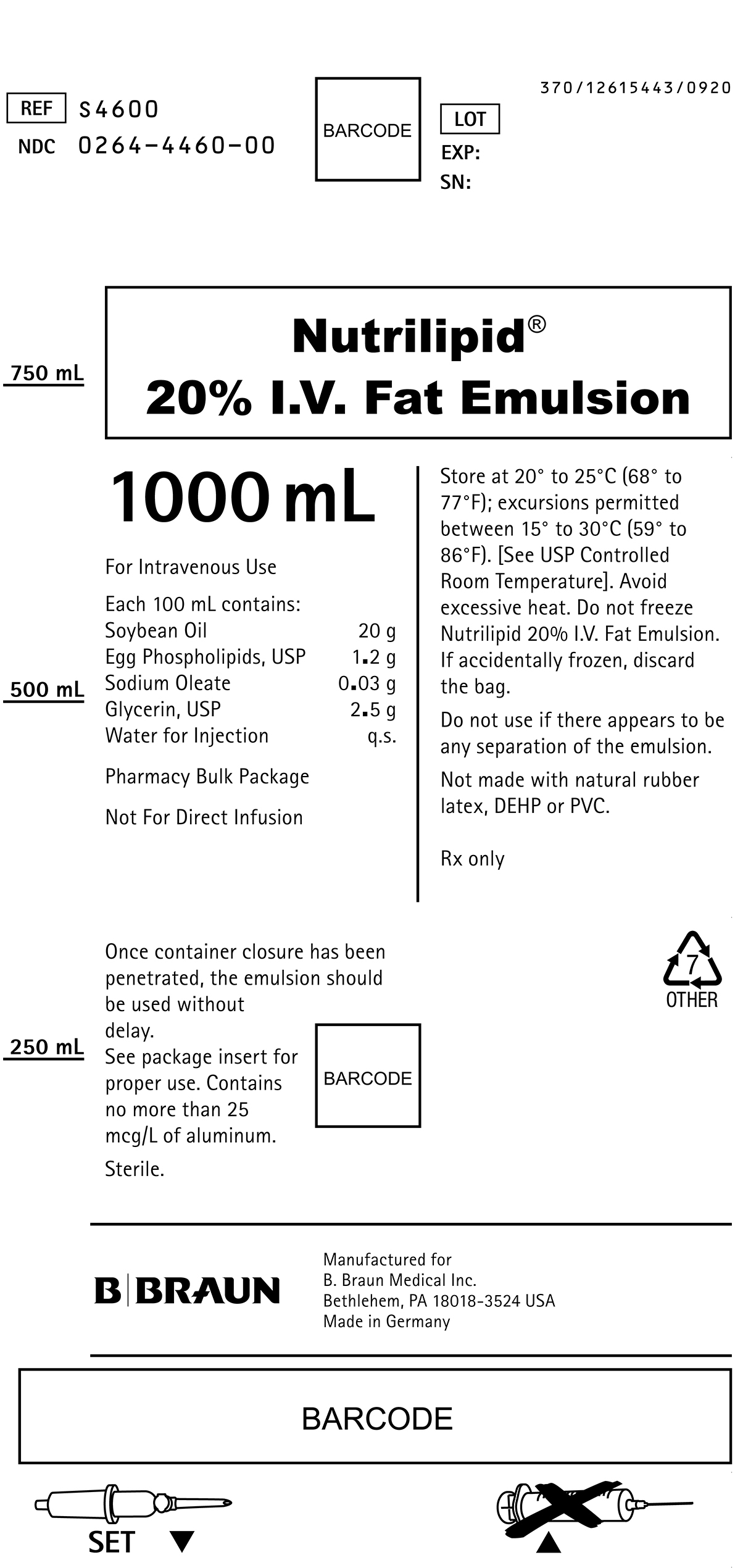 S4600 Container Label