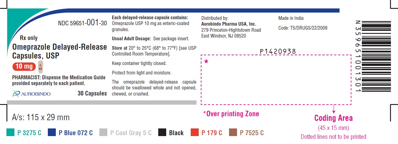 PACKAGE LABEL-PRINCIPAL DISPLAY PANEL - 10 mg (30 Capsule Bottle)