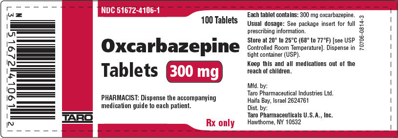 Principal Display Panel - 300 mg Tablet Bottle Label