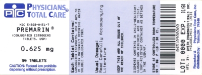 image of 0.625 mg package label