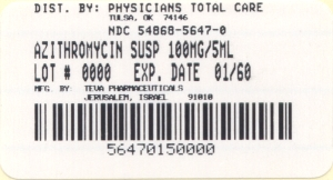 image of package label for 100 mg/5 mL