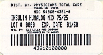 PACKAGE CARTON – HUMALOG Mix75/25 10 mL vial 1ct