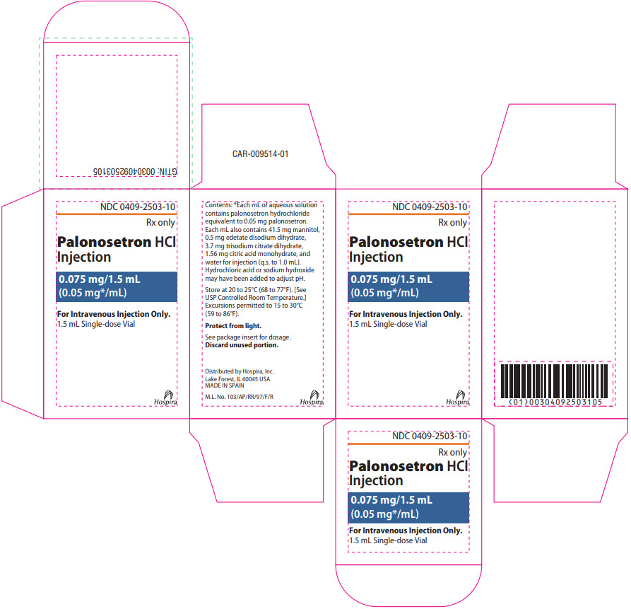 PRINCIPAL DISPLAY PANEL - 1.5 mL Vial Carton
