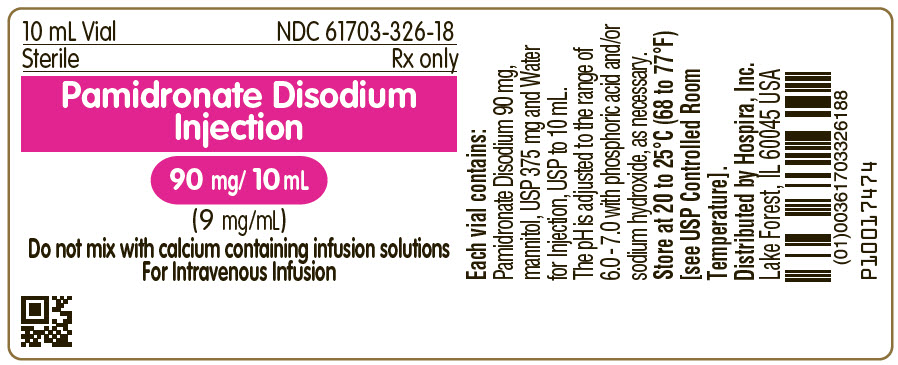 PRINCIPAL DISPLAY PANEL - 90 mg/10 mL Vial Label